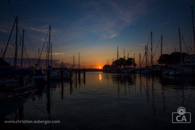 Kiel – Laboe Sonnenuntergang